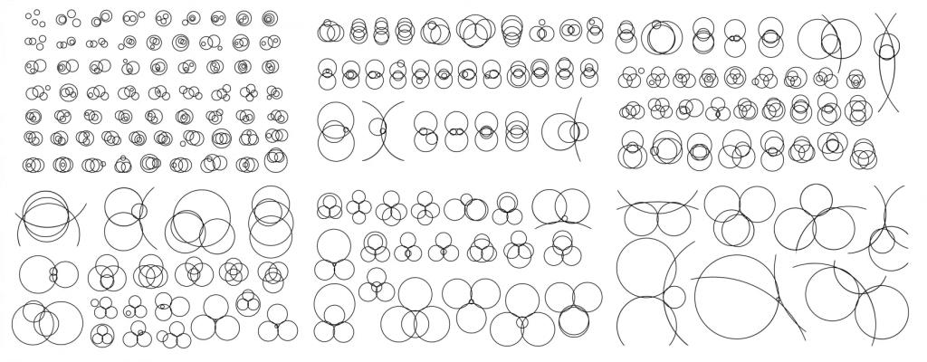 173 ways you can overlap four circles